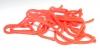 SQW 03 Squirmy wormy fluo červené